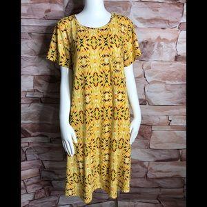 LulaRoe Carly woman Dress size L